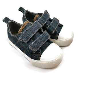 Denim Sneakers Size 4